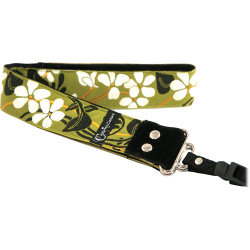 """Capturing Couture Hibiscus Collection: Hibiscus Fields 1.5"""" SLR/DSLR Camera Strap"""