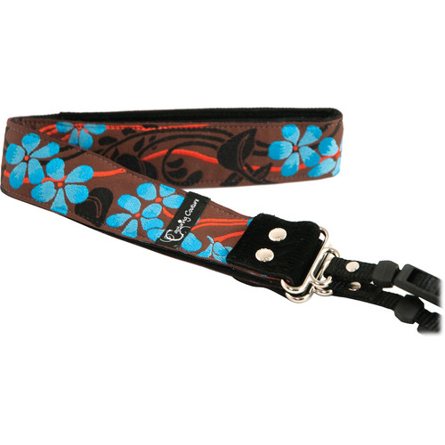 "Capturing Couture Hibiscus Collection: Hibiscus Ocean 1.5"" SLR/DSLR Camera Strap"
