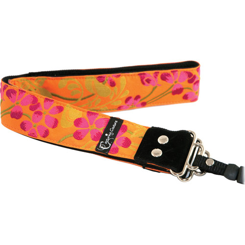"Capturing Couture Hibiscus Collection: Hibiscus Sun 1.5"" SLR/DSLR Camera Strap"