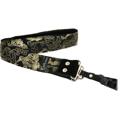 "Capturing Couture Silk Collection: Lotus Night 1.5"" SLR/DSLR Camera Strap"
