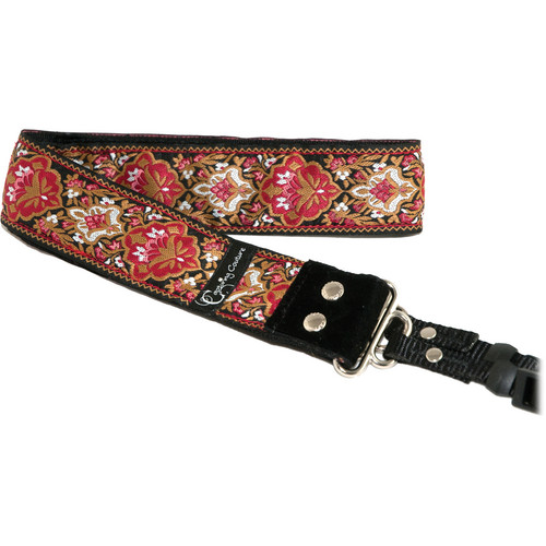 "Capturing Couture Rose Baroque 1.5"" Camera Strap"