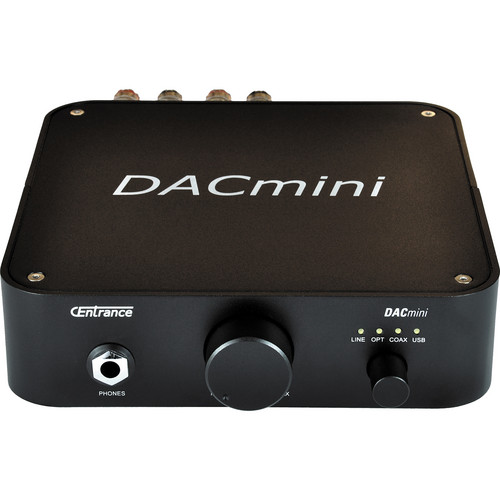 CEntrance Inc. DACmini PX DAC with Headphone and Power Amplifiers