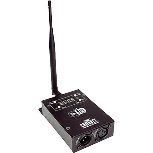 CHAUVET PROFESSIONAL D-Fi PLUS Wireless DMX-512 Transmitter / Receiver