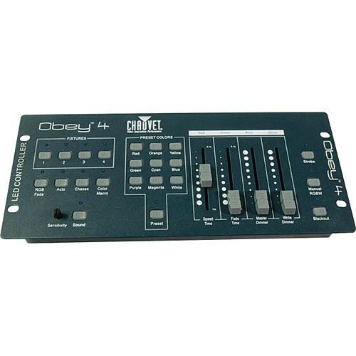 CHAUVET DJ Obey 4 DMX Channel Controller