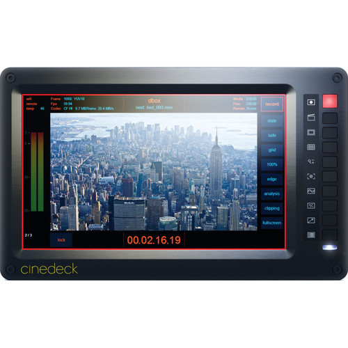 Cinedeck Hi-Brite Display Option