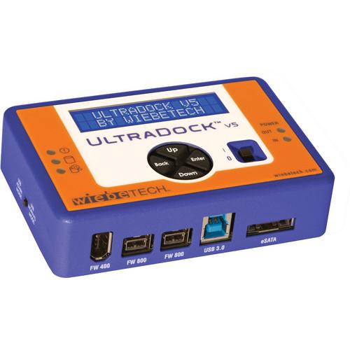 "CRU-DataPort UltraDock v5 for 2.5"" & 3.5"" Drives"