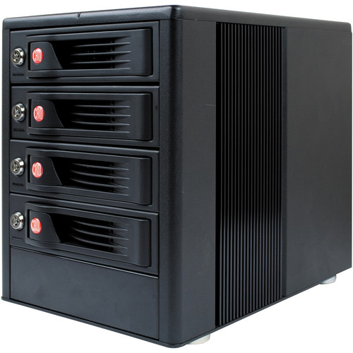 CRU-DataPort RTX410-3QJ 4 Bay JBOD Tower Enclosure