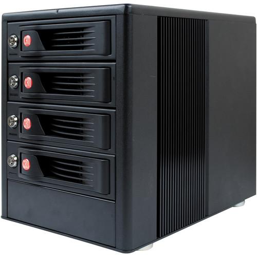 CRU-DataPort RTX410-3QJ 4 Bay JBOD Tower Enclosure