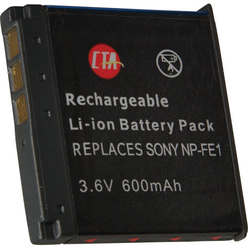 CTA Digital NP-FE1 Lithium-Ion Battery  (3.6v 600mAh)