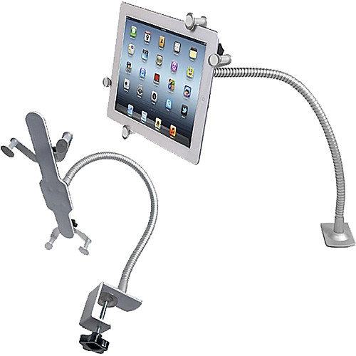 CTA Digital Adjustable Gooseneck Clamp Stand
