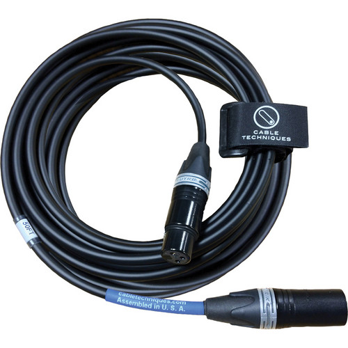 Cable Techniques CT-PX-550 Premium Stereo Microphone Cable - 50' (15.24m)