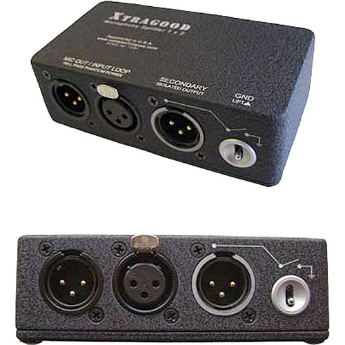Cable Techniques XTRAGOOD Microphone Signal Splitter