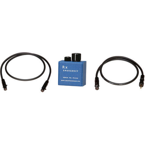 Cable Techniques RX-KIT4 RX Emergency Interface Kit with CT-MB-524 and RX-TRSBL Cables
