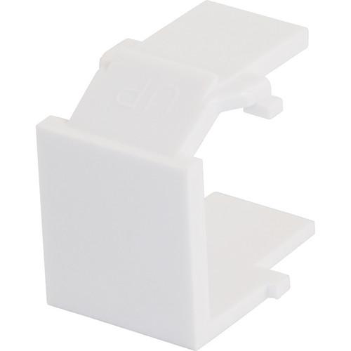 C2G Snap-In Blank Keystone Insert Module (White)