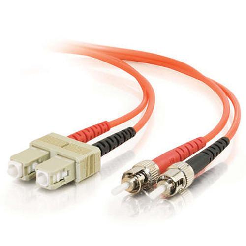 C2G 16.4' (5 m) SC/ST Duplex 62.5/125 Multimode Fiber Patch Cable (Orange)
