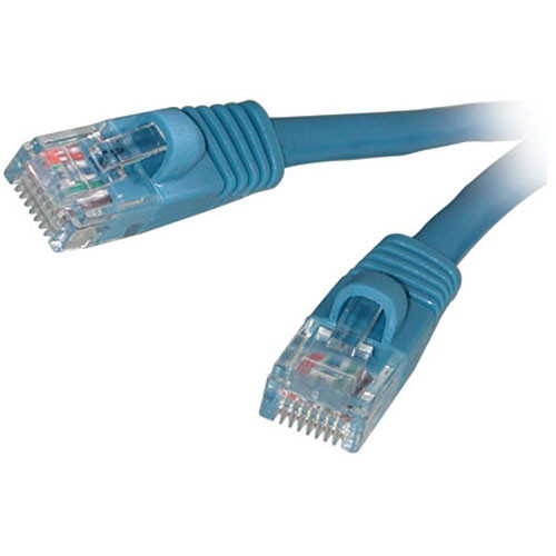 C2G 15178, Cat5E 350MHz Snagless Patch Cable - 3' (Blue)