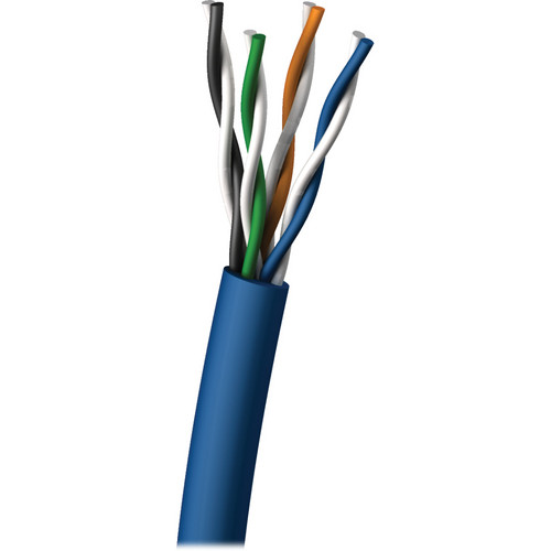 C2G 1000' (304.80m) Cat5E Bulk Cable - Pull Box (Blue)