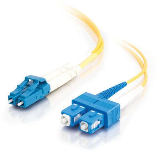 C2G 5m LC/SC Duplex 9/125 Single Mode Fiber Patch Cable (Yellow)