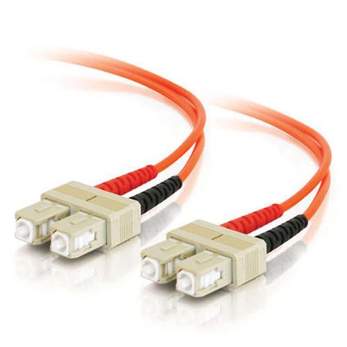 C2G 5m SC/SC Duplex 50/125 Multimode Fiber Patch Cable (Orange)