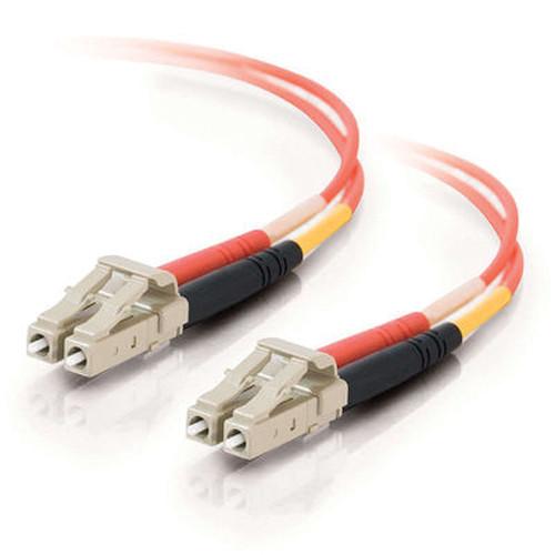 C2G 16.4' (5 m) LC/LC Duplex 50/125 Multimode Fiber Patch Cable (Orange)