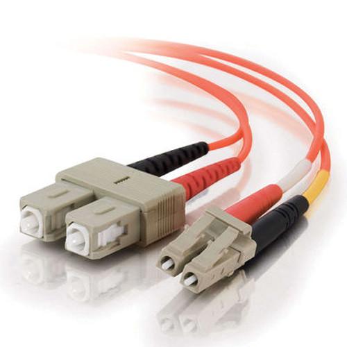 C2G 5 m LC/SC Duplex 62.5/125 Multimode Fiber Patch Cable (Orange)