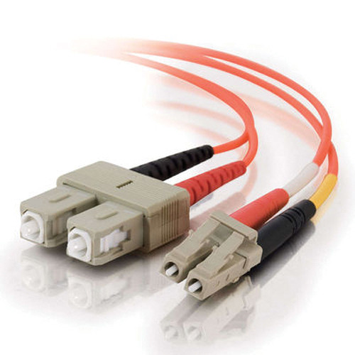 C2G 15 m LC/SC Duplex 62.5/125 Multimode Fiber Patch Cable (Orange)