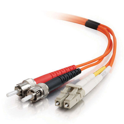 C2G 5m LC/ST Duplex 62.5/125 Multimode Fiber Patch Cable (Orange)