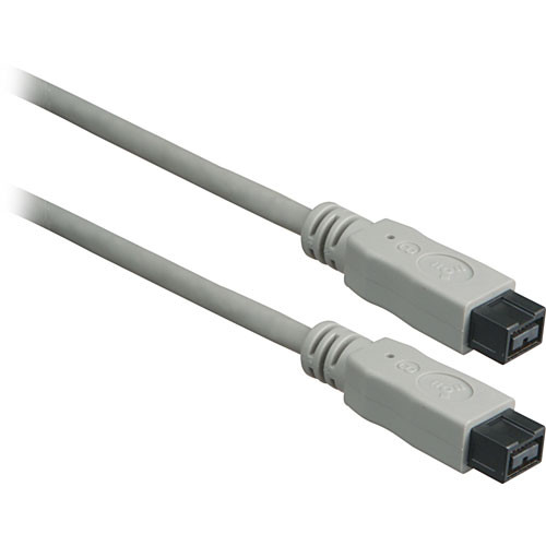 C2G 50700 IEEE-1394B FireWire 9-Pin to 9-Pin Cable (6.6')