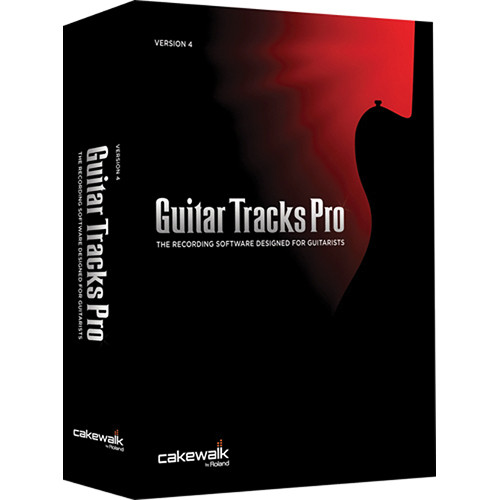 Cakewalk Guitar Tracks Pro 4 - Audio Production Software (Windows)