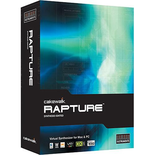 Cakewalk Rapture - Virtual Synthesizer - Educational Institution Discount (20 Station Lab Pack)
