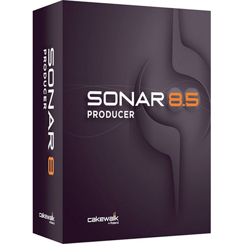 Cakewalk Sonar 8.5 Producer  - Audio Production Software (Educational Institution Discount - 5 Station Lab Pack)