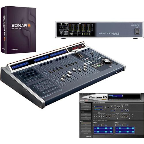 Roland SONAR V-Studio 700 - Integrated Audio Production System