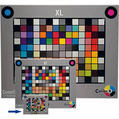 "Calibr8 Digital Color Chart SG - Extra Small (2.4 x 1.6"")"