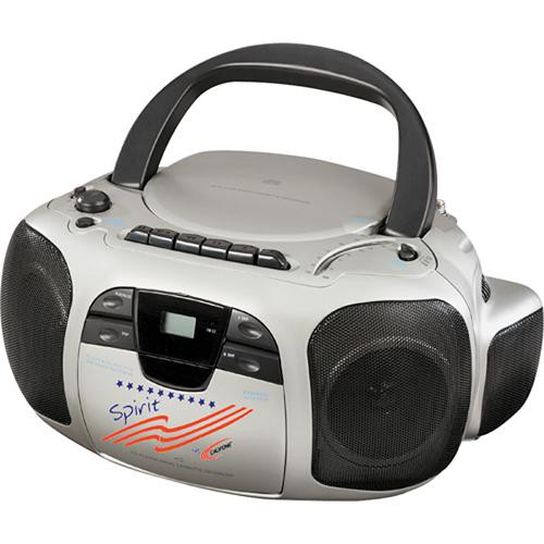 Califone Spirit CD/Cassette/Radio Boom Box