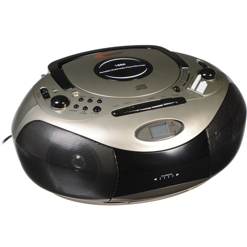 Califone Spirit SD Multimedia Player/Recorder Boom Box