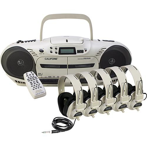 Califone 2455PLC Performer Plus Multimedia Player/Recorder