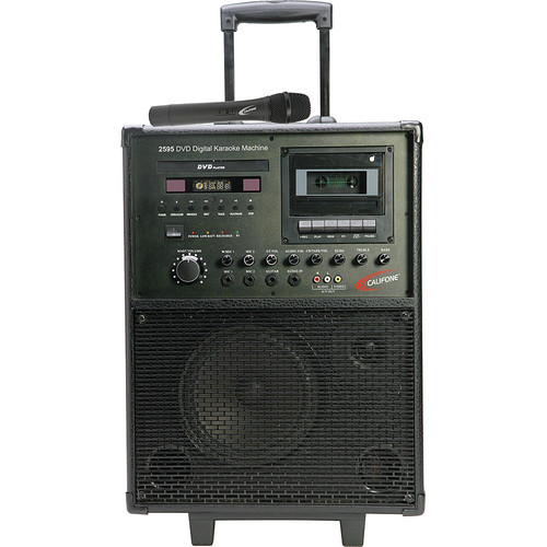 Califone 2595AV Karaoke Player/Recorder