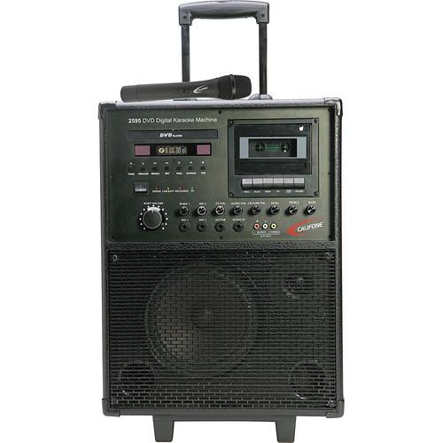 Califone 2595AV Karaoke Player/Recorder