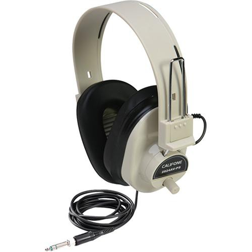 Califone Deluxe Stereo Headphone (White)