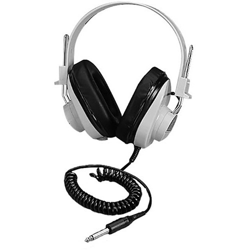 Califone 2924AVP - Monaural Headphones with Coiled Cable