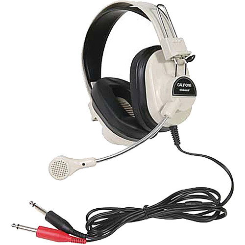 Califone 2964AV Mono Headset with Boom Microphone