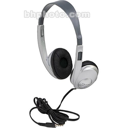 Califone 3060AVS Multimedia Stereo Headphones (Silver)