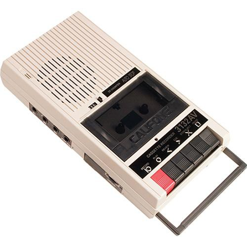 Califone 3132AV Economy Cassette Tape Player/Recorder