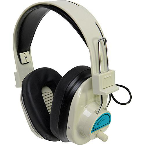 Califone CLS725 Wireless RF Mono Headphones (72.5MHz, Blue)