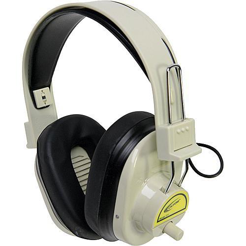Califone CLS721 Wireless RF Mono Headphones (72.1MHz, Yellow)