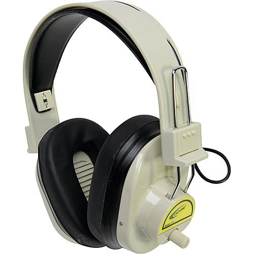 Califone CLS721 Wireless RF Mono Headphones (72.1MHz, Yellow)