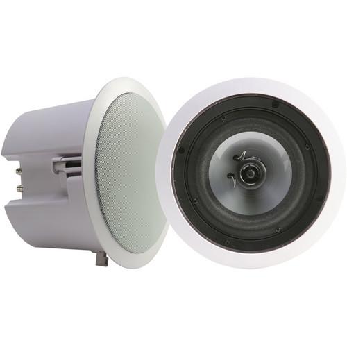 "Califone CS308 6"" 2-Way In-Ceiling Loudspeaker (Pair)"
