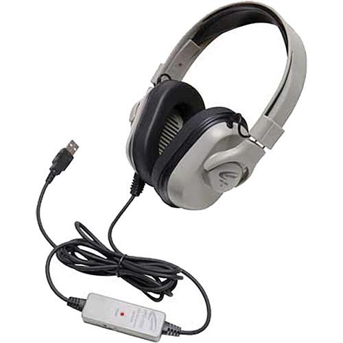 Califone Titanium HPK-1000 Washable Headphones
