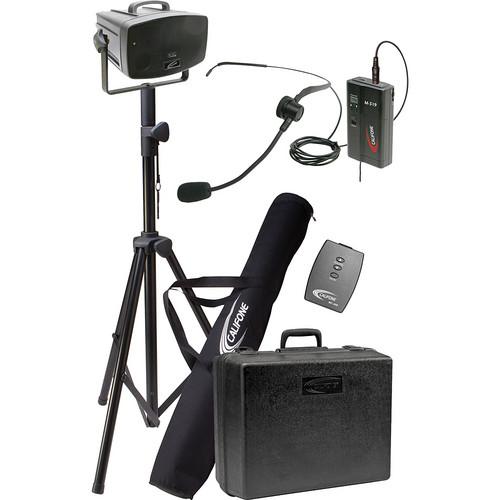 Califone PA319PH Wireless PresentationPro Portable PA Speaker with Headset Mic