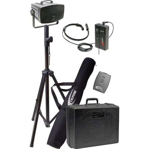 Califone PA319PN Wireless PresentationPro Portable PA Speaker with Neck Mic